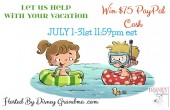 $75 Vacation Pay Day #Giveaway