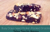 Busy Days need Protein Packed Snacks $25 Paypal Giveaway #FeelGooder