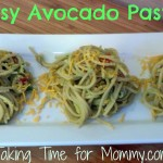 Easy Avocado Pasta #PublixFlavorExcursion