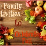 Fun Family Activities to Celebrate Fall $25 Paypal #Giveaway
