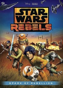 Star Wars Rebels DVD giveaway