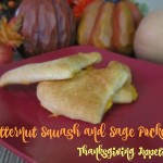 Butternut Squash and Sage Pockets Thanksgiving Appetizer #FallFamilyMeals