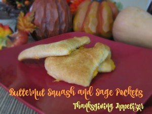 Butternut Squash and Sage Pockets