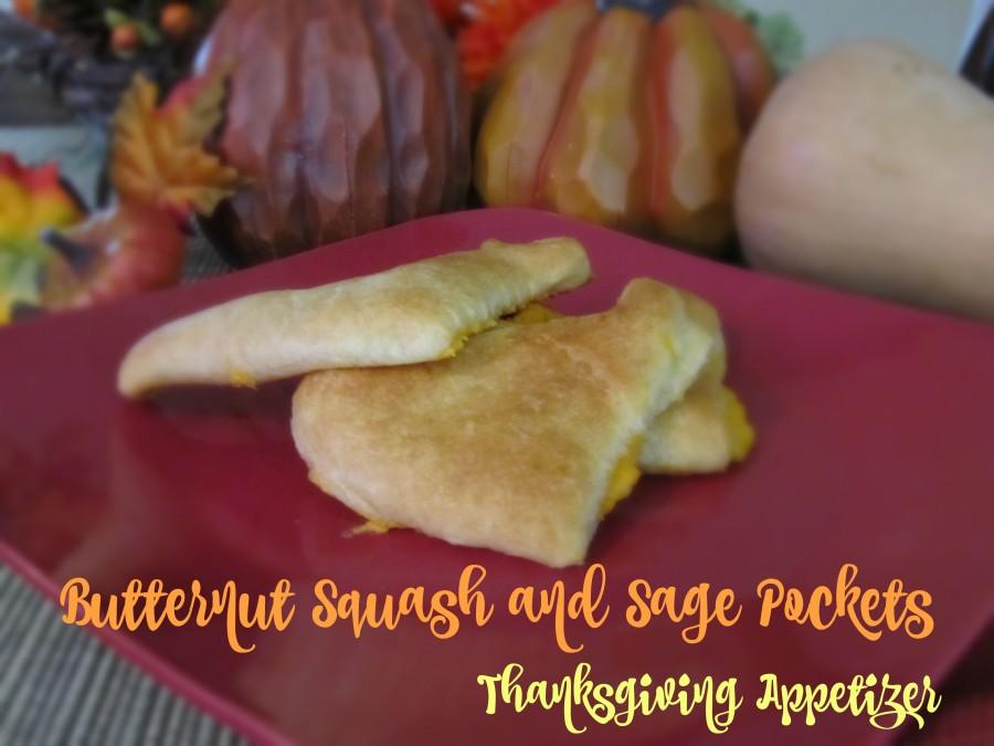 Butternut Squash and Sage Pockets Thanksgiving Appetizer #FallFamilyMeals