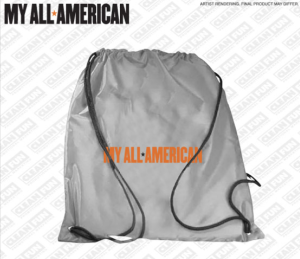 My All American Cinch Sack