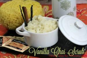 Vanilla Chai Scrub Recipe