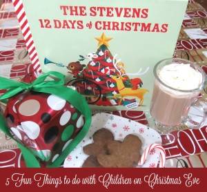 5 Fun Things to do with Children on Christmas Eve  #iseemebooks @ISeeMe_Books