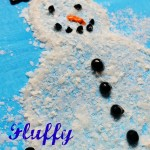 Fluffy Snowman Craft