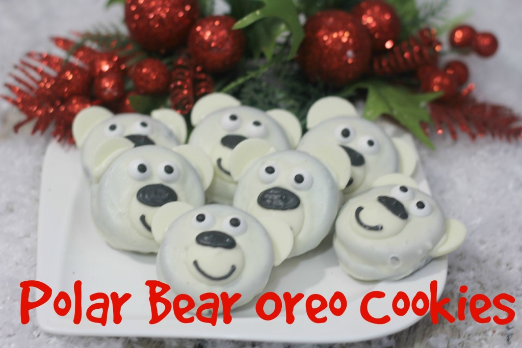 polar bear oreo cookies