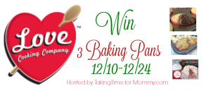 Win 3 Love Cooking Company Pans
