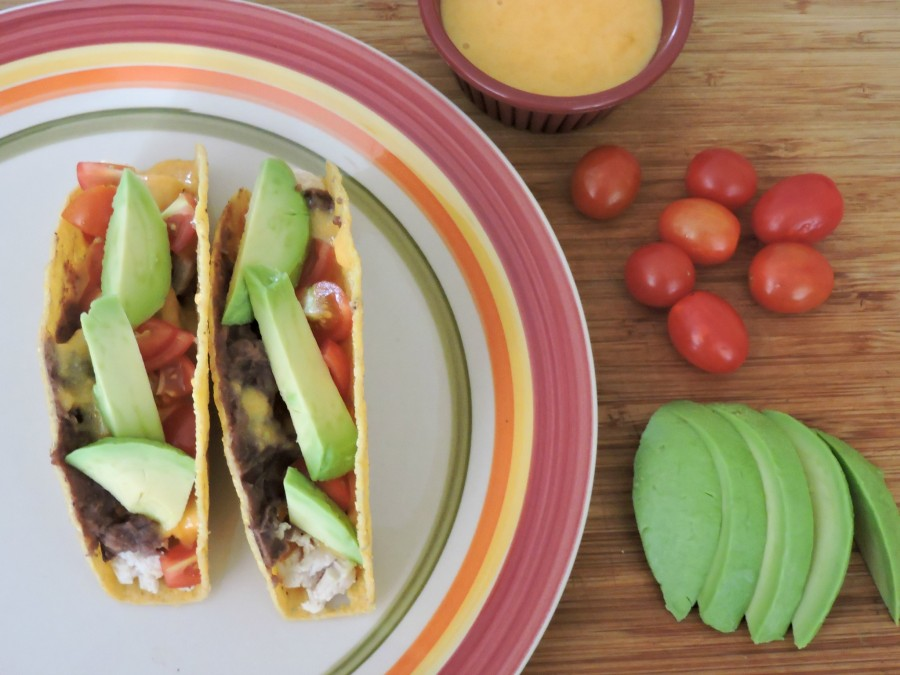 Chicken and Beer Cheese Tacos with Avocado $25 Paypal #giveaway