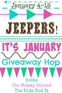 JEEPERS! It's January Blog Hop! #HappyNewYear