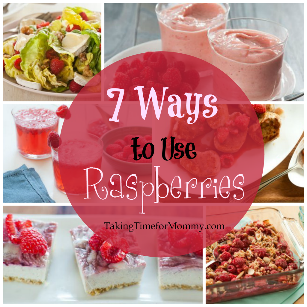 Ways to use raspberries