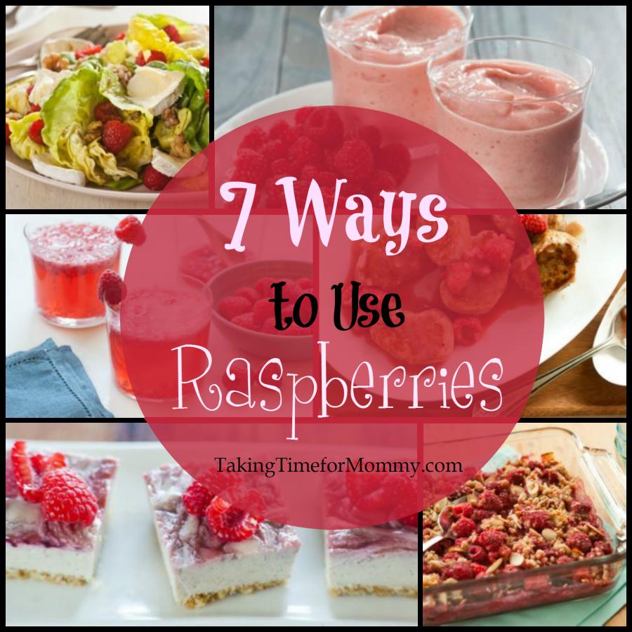 7 Ways to Use Raspberries