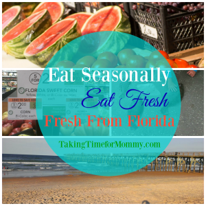 Eat Seasonally, Eat Fresh #FreshFromFlorida #IC