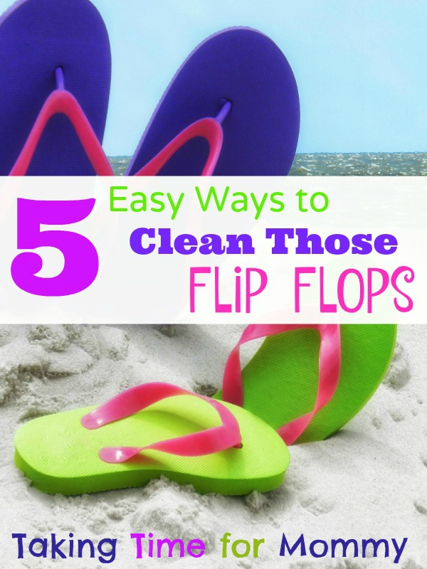 How to Clean Flip Flops