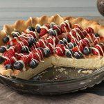Rustic Berry-Cream Tart