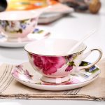 Royal Bone China Ceramic Cup