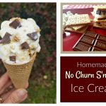 Homemade S'Mores No Churn Ice Cream
