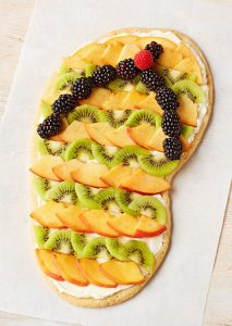 Flip-flop Fruit Pizza