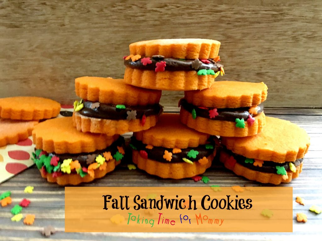 fall sandwich cookies