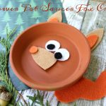 Flower Pot Saucer Fox Craft