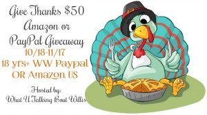 Give Thanks Giveaway $50 Amazon or PayPal