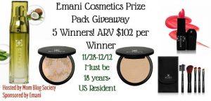 Emani Cosmetics Prize $102 (5 Winners!)