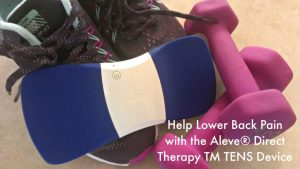 Help Lower Back Pain with the Aleve Direct Therapy TENS Device