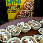 Mini Football Tacos Appetizers #OEPBigGame