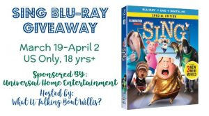 Win your own copy of SING