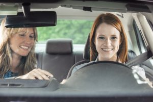 Moms teaching kids to drive – how to do it safely