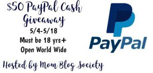 Mom Blog Society Giveaway $50 PayPal Cash