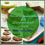 Homemade Snacks for Summer Road Trips