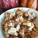 Fall Peanutty Pie Crust Clusters and Whipped Pumpkin Butter Recipe