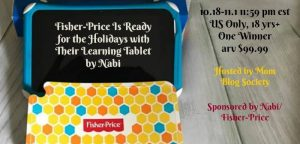 Fisher-Price Nabi Learning Tablet arv $99.99