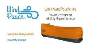Giveaway -1 WindPouch Lite (arv $55)
