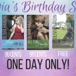 Olivia's Birthday Sale