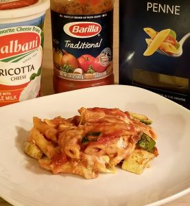 Delicious and Easy Holiday Dish – Vegetarian Penne and Ricotta