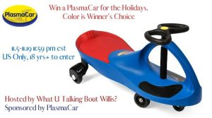 PlasmaCar for the Holidays Giveaway