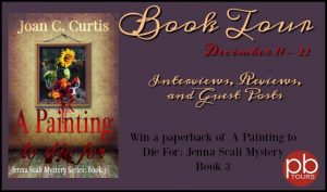 Review – A Painting to Die for by Joan C. Curtis and Contest