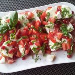 Classic Caprese Salad with Balsamic Glaze