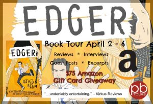 Edger by David Beem $75 Amazon GC Giveaway