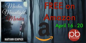 Free eBook Mocha, Moonlight, and Murder (Under The Moonlight Book 1) by MaryAnn Kempher