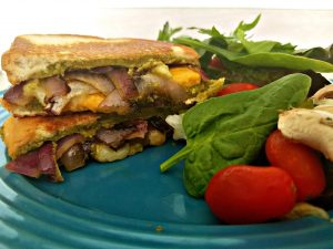 Grown-up Gourmet Grilled Cheese