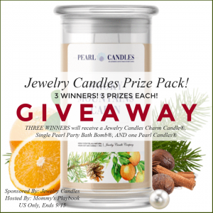 Jewelry Candles Prize Pack! 3 Winners! 3 Prizes Each!