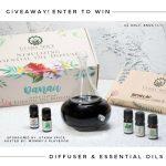 Danau Dua Nebulizing Diffuser & Nature's Aid Box Set of Essential Oils (APV $100) Giveaway
