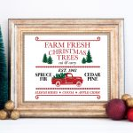 Farm Fresh Christmas Tree Printable
