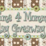 Giveaway Weekend Linkup starting 9/16
