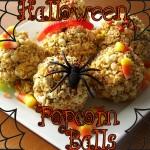 Easy Halloween Popcorn Balls Recipe